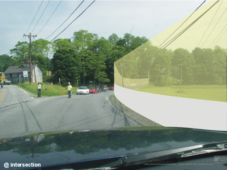 Accident reconstruction sequence @ intersection